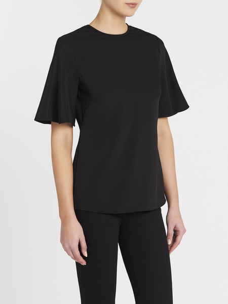 Camilla and Marc Cannes Short Sleeve Top - Black