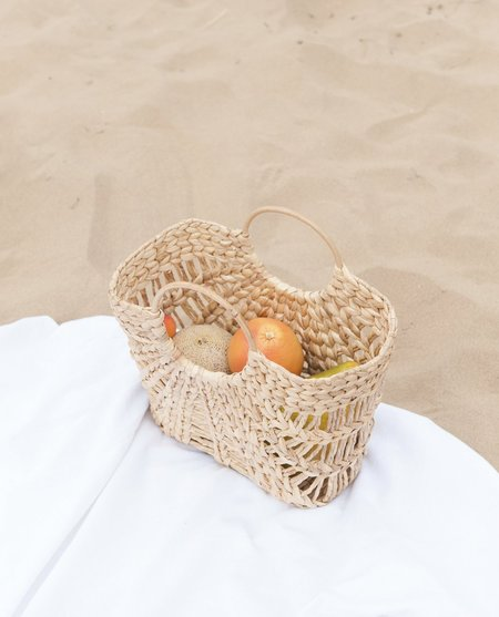 beaumont organic Citra Rattan Shopper