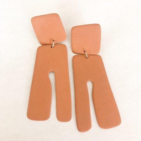 Four Eyes Ceramics Tassel Earrings