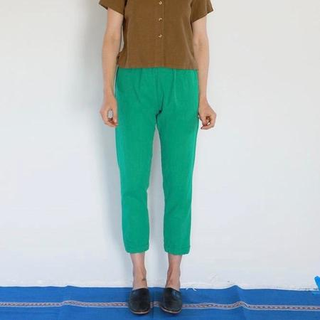 Me & Arrow Cuff Pants - Spring Green