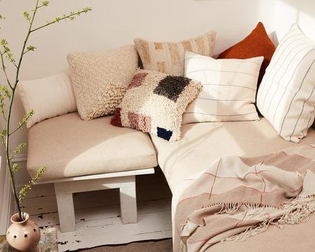 Minna Goods Formas Shag Pillow