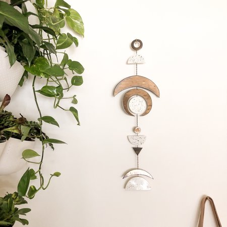 The Latch Key Crescent Wall Hanging
