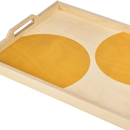 Wolfum Tray - Yellow Dot