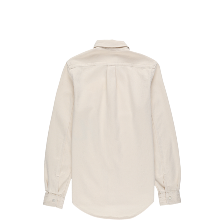 Helmut Lang HL Logo Button Down Shirt - Ecru
