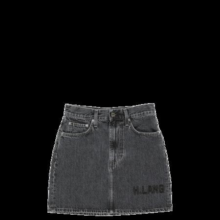 Helmut Lang Femme Mini Skirt - Midnight Stone