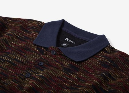 Brixton Cypher Polo Sweater