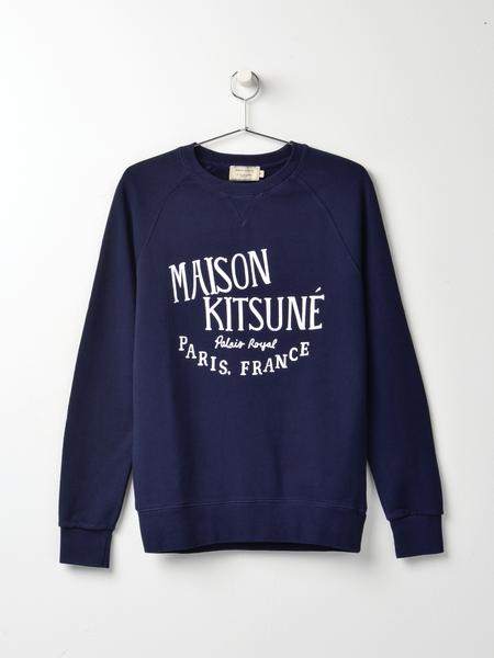 Maison Kitsune Palais Royal Sweatshirt - Navy