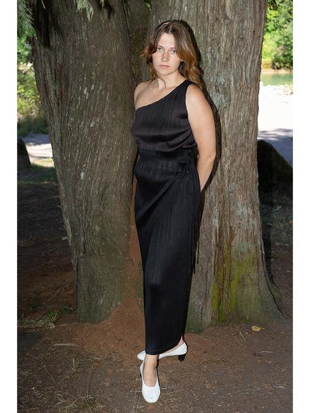 Issey Miyake Wrap Skirt - Black