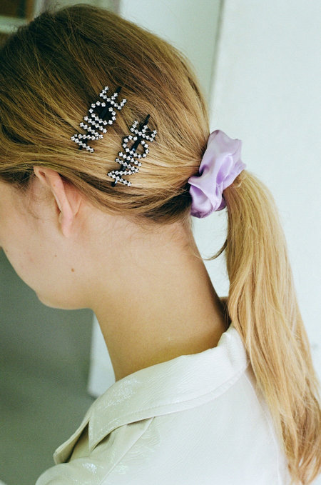 ASHLEY WILLIAMS Nice Hairpins - Silver/Crystal