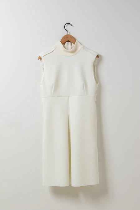 Dorothee Schumacher Scuba Glam Dress - White