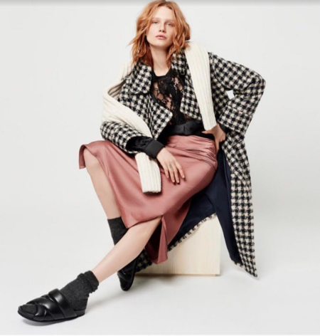 Smythe Bias Cut Slip Skirt - Copper
