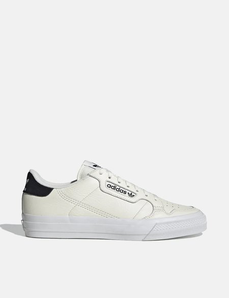 adidas Continental Vulc Shoes - Off White/Core Black