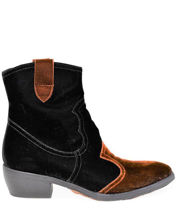 Madison Maison King Velvet Boots - Black