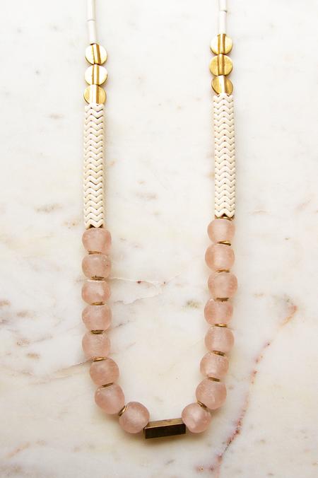 David Aubrey Inc Magnesite Necklace - Pink