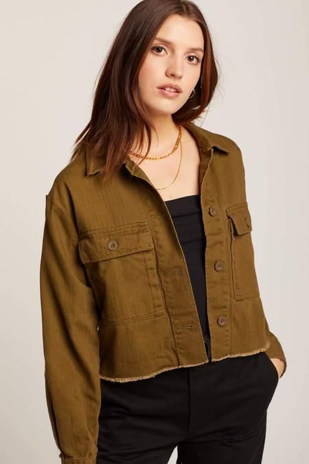 Brixton Olive Abbott Jacket