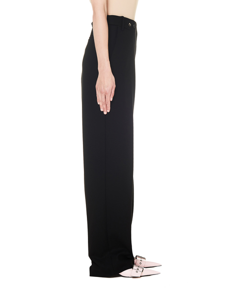 The Row Wool Matea Pants - Black