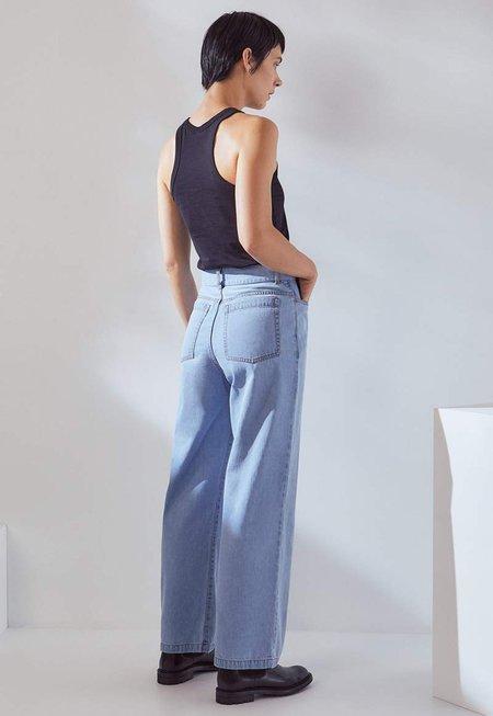 Kowtow Linear Jeans - Pale Blue Denim