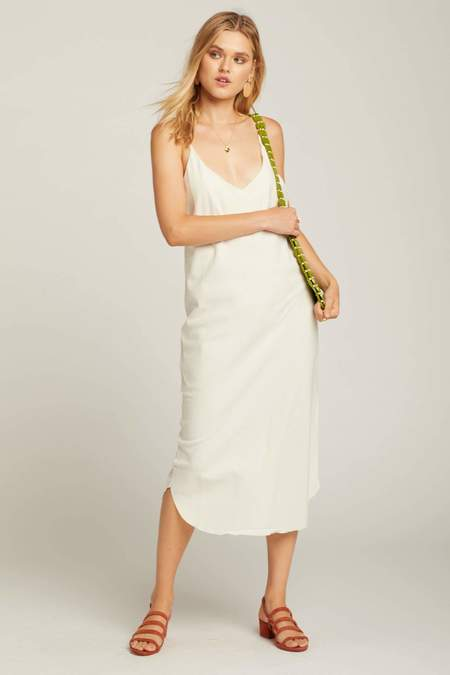 Ozma Natural Silk Bias Slipdress
