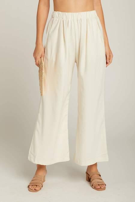 Ozma Natural Silk Noil Pant