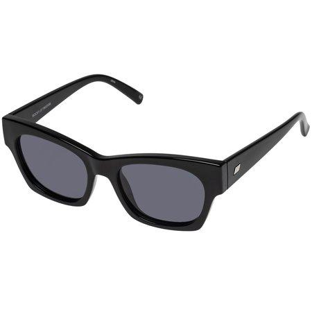 Le Specs Rocky Sunglasses - Black Smoke Mono