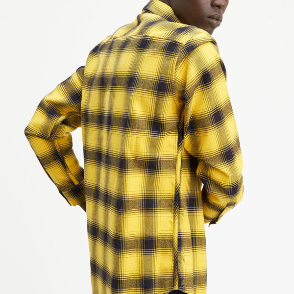 Levi's Made & Crafted Standard Shirt - Charro Black/Yellow Plaid