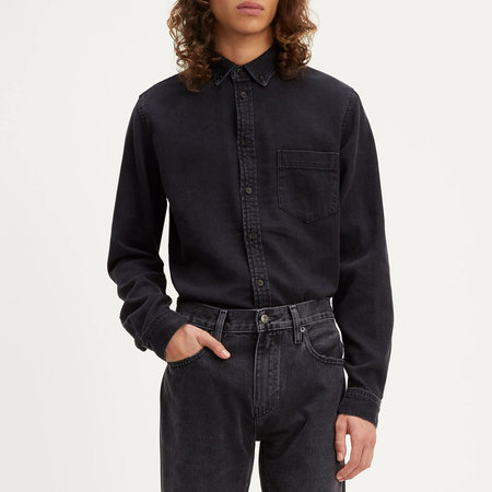 Levi's Made & Crafted Standard Shirt - Washed Black
