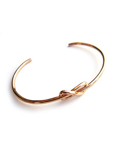 Gabriela Artigas Petite Knot Cuff  Rose Gold