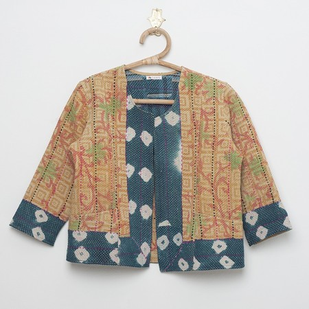 Hotel Baalbek indian cotton quilted jacket