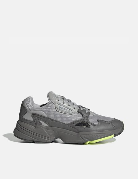 adidas Falcon Shoes - Grey Four/Grey Two/High-Res Yellow