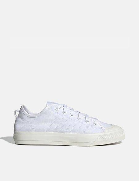 adidas Nizza RF Canvas Shoes - Cloud White/Off White