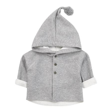 KIDS 1+ In The Family Blas Jacket With Hood - Light Grey