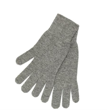 Brodie Cashmere Classic Brodie Gloves - Mid Grey