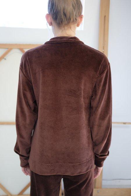 Baserange Suru Longsleeve Sweatshirt - Turnip Brown