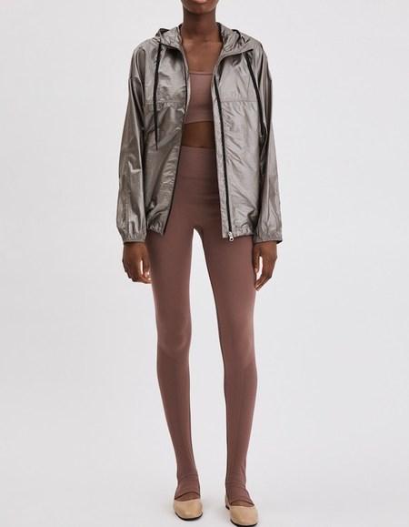 Filippa K Soft Sport Shimmer Jacket - Metallic Stone