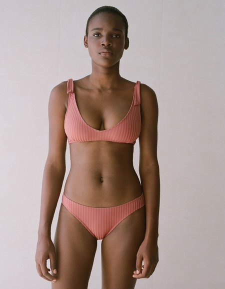 Paloma Wool Diablito Bikini Bottom - Dark Pink