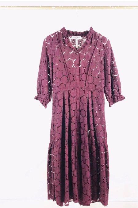 Apiece Apart Suenos Lace Dress - Clove