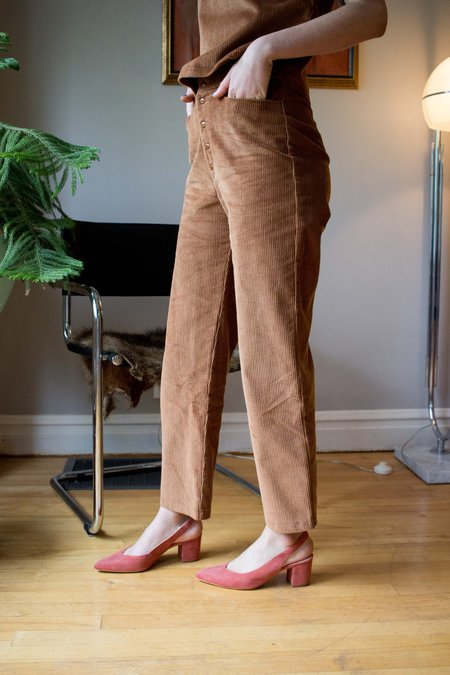 Dagg & Stacey Fairbanks Cord Pant - Cinnamon