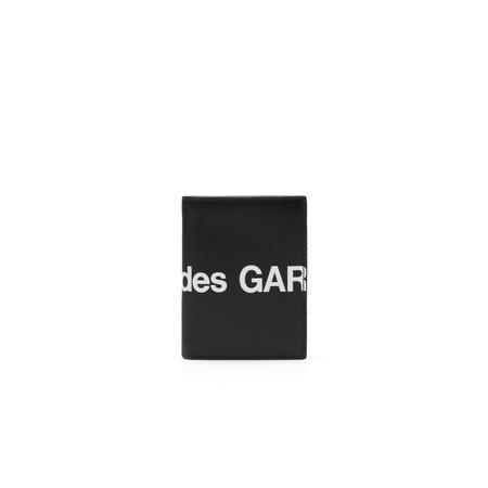 Comme des Garçons Bifold Huge Logo Wallet - Black