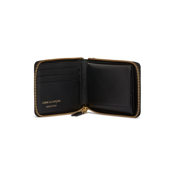 Comme des Garçons Full Zip Wallet - Classic Black