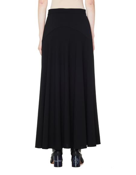 The Row Wool Skirt - Black
