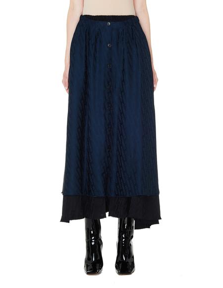 Vetements Reversible Pleated Skirt - black