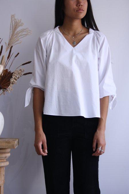Melissa Nepton Mélissa Nepton Poppy Blouse - Blanc Cassé