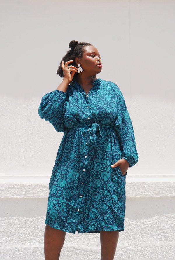 Osei-Duro Flouncy Dress - Lady of Shalott