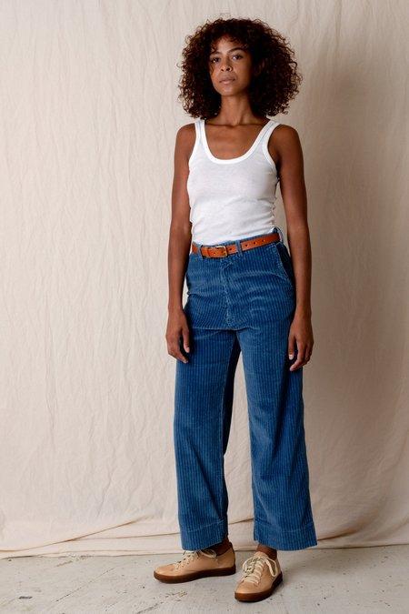 Caron Callahan GREENE PANTS - INDIGO CORDUROY