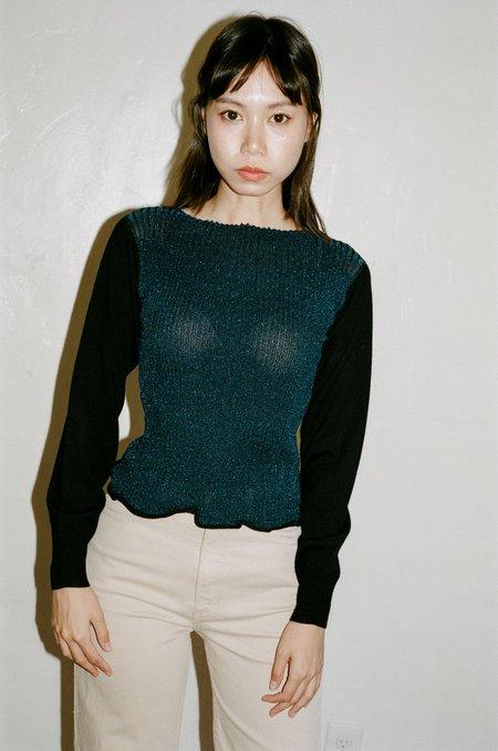 Rachel Comey Nanda Top -  Blue