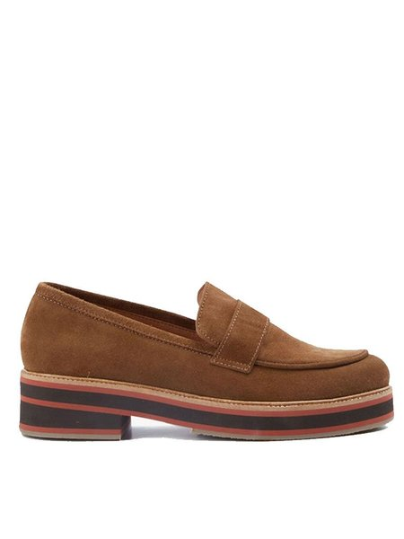 Nice Things Suede Loafer - Cinnamon