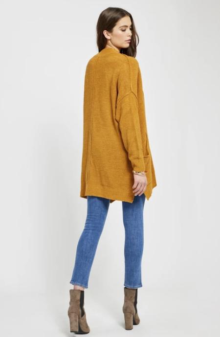 Gentle Fawn Polaris Cardigan - Mustard