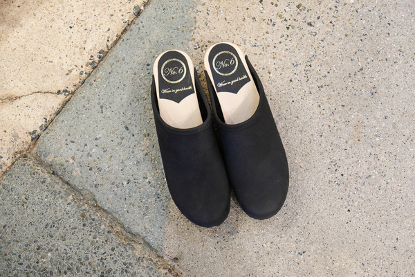 No.6 Low Base Valley Clog - Midnight