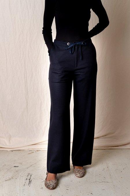 Unisex SEYA Easy Straight Pant - Navy