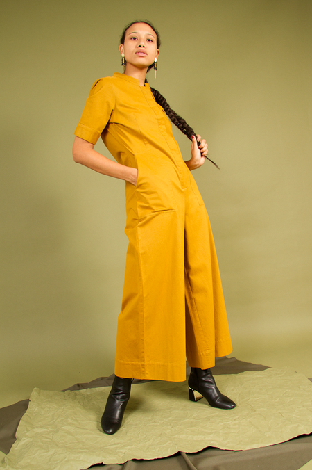 Bhoomki Rosie Jumpsuit - Turmeric